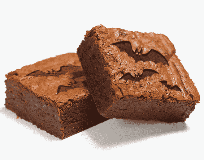 bat brownie